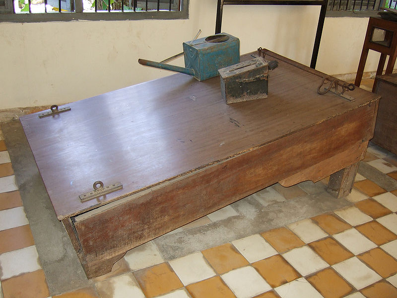 A Water Board used by Khmer Rouge