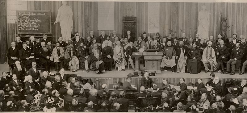 Congress of Parliament of World's Religions, Chicago, 1893