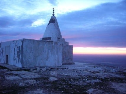 Yezidi temple in northern Iraq. Picture taken by an American Soldier from the 334th Signal Company, 3rd Brigade, 2nd Infantry Division, April 2004.
