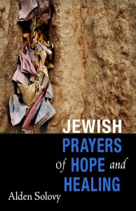 """Jewish Prayers of Hope and Healing"" book cover."