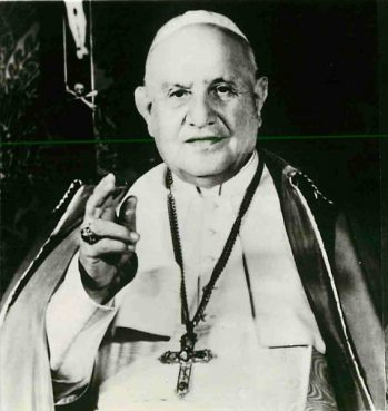 (1961) With his new 25,000-word encyclical, Mater et Magistra, Pope John XXIII has joined two other pontiffs whose encyclicals on social problems constitute the greatest documents of their kind in the modern history of the Church. Religion News Service file photo