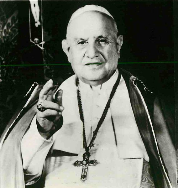 "With his new 25,000-word encyclical, ""Mater et Magistra"", Pope John XXIII joined two other pontiffs whose encyclicals on social problems constitute the greatest documents of their kind in the modern history of the church. Religion News Service file photo"