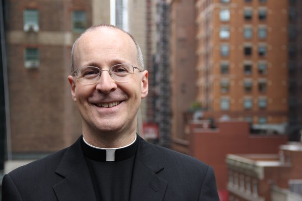 The Rev. James Martin, a Jesuit priest, editor at large of America magazine and the author of many books. Photo by Kerry Weber, courtesy of James Martin