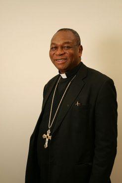 Cardinal John Olorunfemi Onaiyekan, the archbishop of Abuja, pictured in March, 2013.