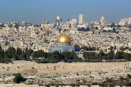A view of Jerusalem.
