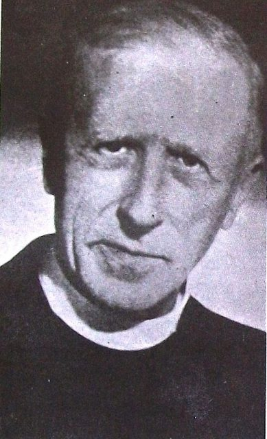 Photo of Pierre Teilhard de Chardin from the book