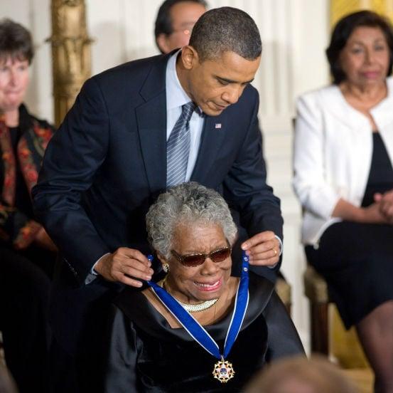 Maya Angelou in 2011