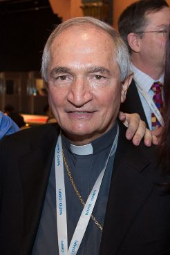 Archbishop Tomasi at the WIPO Treaty for the Blind conference in Marrakech in June 2013.