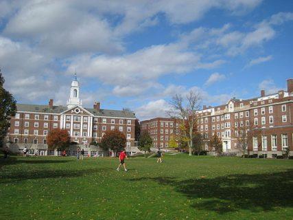 General view of Radcliffe Quadrangle at Harvard University in Cambridge, Mass.