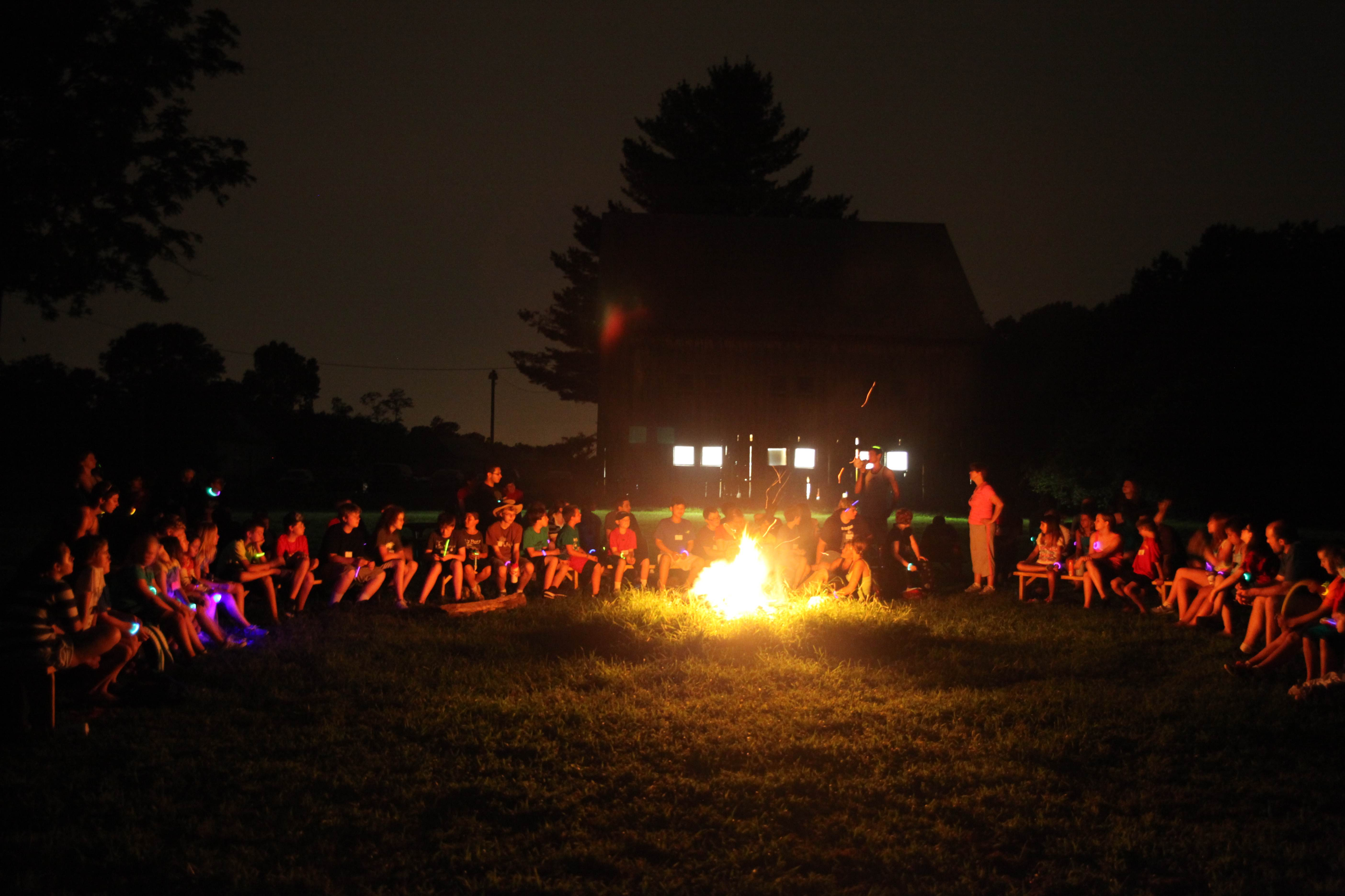 Campers at Camp Quest Chesapeake in 2013.