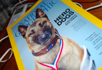 The cover of the June 2014 National Geographic. Photo courtesy Rachel Marie Stone