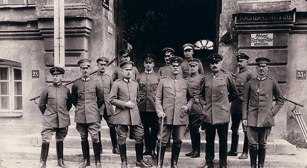 A distinguished historian argues that The Great War was also a holy war that reshaped every major religion of the 20th century. - Photo of German military during WWI courtesy of Jens-Olaf Walter (http://bit.ly/1o9MAj1)