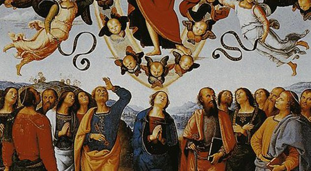 Popular Christian author claim to unveil seven aspects of Christ's post-ascension work. - Vittoria Garibaldi: Perugino. Silvana, Milano 2004 (Wikimedia Commons)