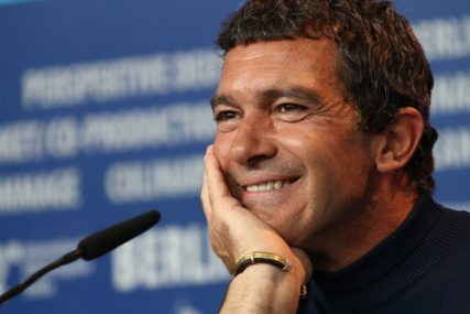 Antonio Banderas attends the 'Haywire' Press Conference during of the 62nd Berlin Film Festival on February 15, 2012 in Berlin, Germany.