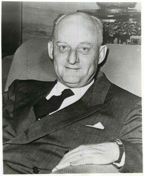(Date unknown) Dr. Reinhold Niebuhr, then dean emeritus of New York's Union Theological Seminary. Religion News Service file photo