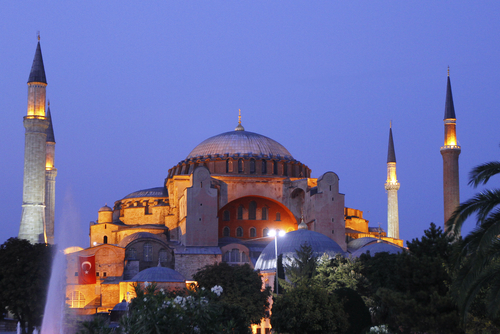 The Hagia Sophia (Aya Sofya)