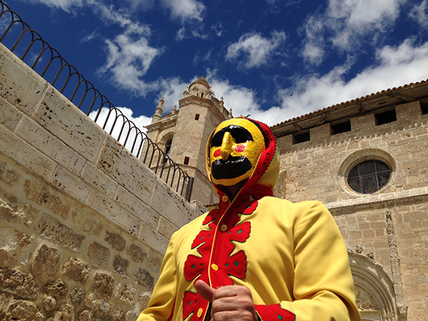 During El Colacho, usually celebrated during Corpus Christi, men clad in yellow jump over infants to rid them of original sin.