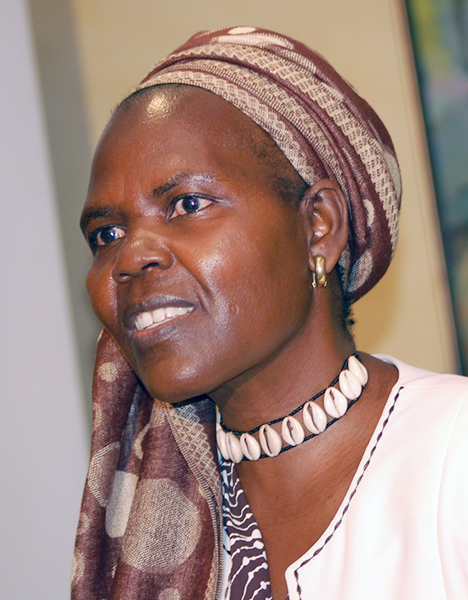 Agnes Abuom, an Anglican theologian in Kenya, is the moderator of the Geneva-based World Council of Churches.