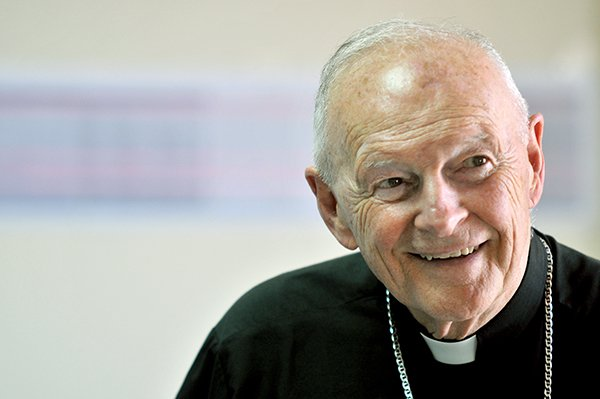 Cardinal Theodore E. McCarrick, archbishop emeritus of Washington, D.C., visited Gaza in 2010, where he brought a message of solidarity and peace.