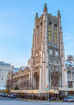 Manhattan's Union Theological Seminary, the country's oldest independent seminary. Photo by Jeff Bridges, courtesy Union Theological Seminary