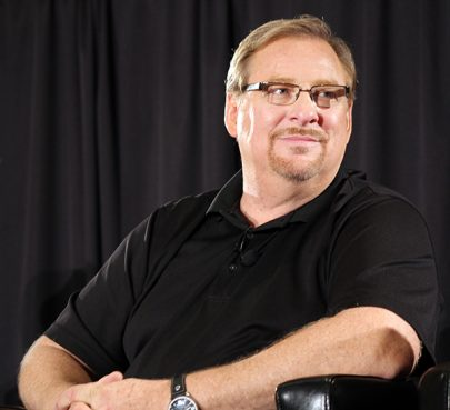 Megachurch pastor Rick Warren took part in a panel on religious liberty sponsored by the Southern Baptist Convention's Ethics and Religious Liberty Commission immediately after speaking at the last session of the SBC's Pastors' Conference in Baltimore. RNS photo by Adelle M. Banks