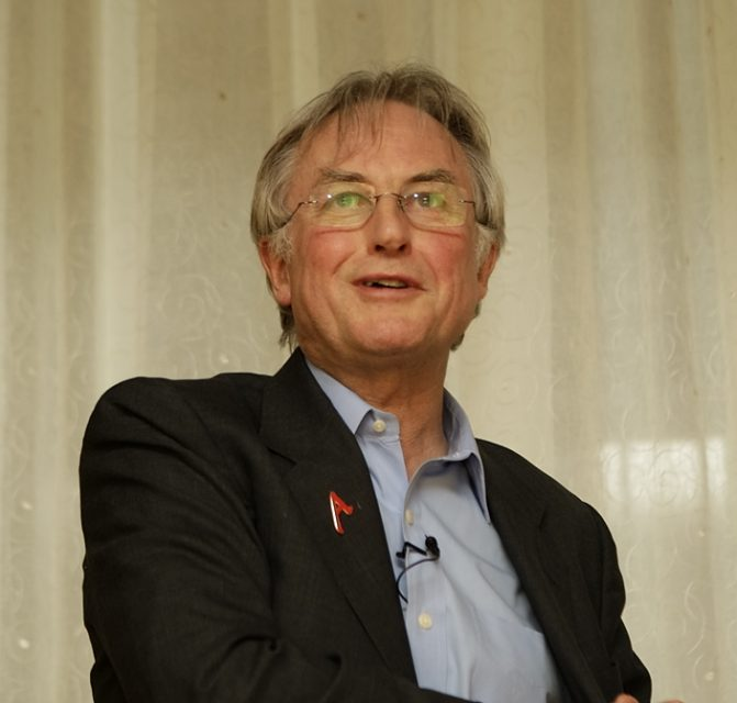Richard Dawkins at the 34th American Atheists Conference in Minneapolis in March, 2008.