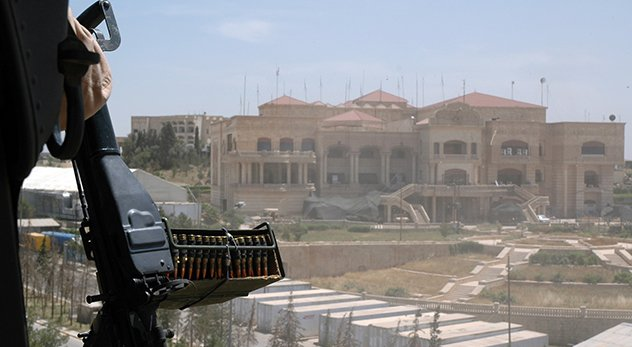 Landing Zone (LZ), Mosul Presidential Site or 'Palace of Swords', Mosul, northern Iraq - Image courtesy of James Gordon (http://bit.ly/Use9XX)