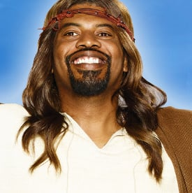 "Gerald ""Slink"" Johnson plays the role of God's son in Adult Swim's new comedy, ""Black Jesus."""