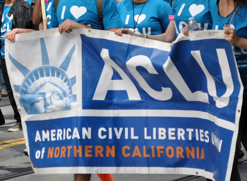 Several leading civil rights organizations, including the American Civil Liberties Union, Lambda Legal and GLAAD, withdrew support for a federal employment nondiscrimination act because of the religious exemptions present in the bill.