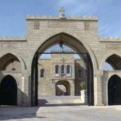 The Mar Behnam Monastery is a Syriac Catholic monastery in northern Iraq, close to the town of Beth Khdeda.