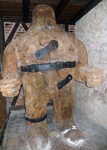 In Jewish folklore, a golem is an anthropomorphic entity that is created magically from inanimate matter.