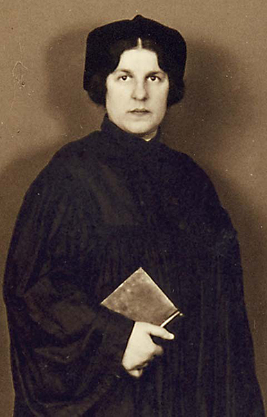 Regina Jonas was born in 1902 and, in 1935, became the first ordained woman rabbi.