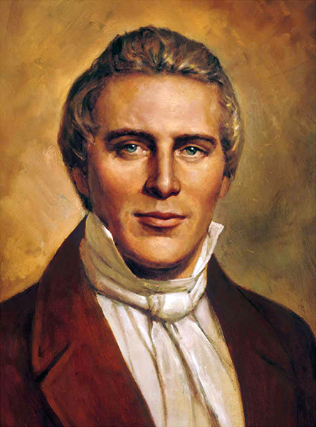 Joseph Smith, Jr., the founder of Mormonism, lived from 1805 to 1844, when he was killed while while awaiting trial for treason.