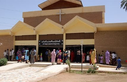 The All Saints Cathedral in Khartoum is an Anglican church and one of the houses of worship that the Sudanese government says is enough to serve the remaining Christian population.