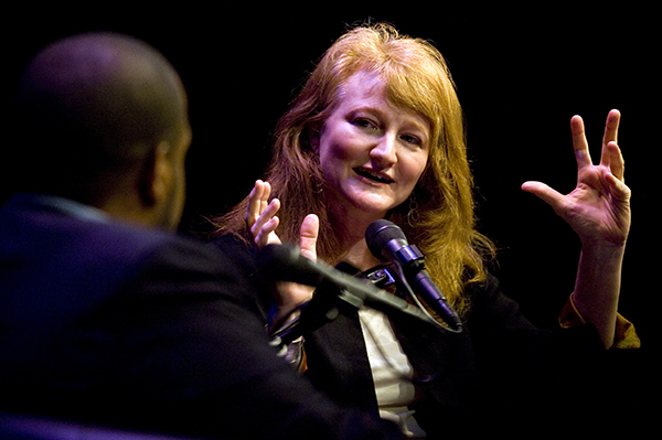 "Krista Tippett, the host of ""On Being"" was recently awarded the National Humanities Medal for her public radio show, which airs on 334 radio stations."
