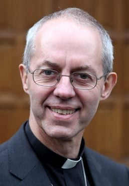 Archbishop of Canterbury Justin Welby supports legislation that would allow women bishops in the Church of England.