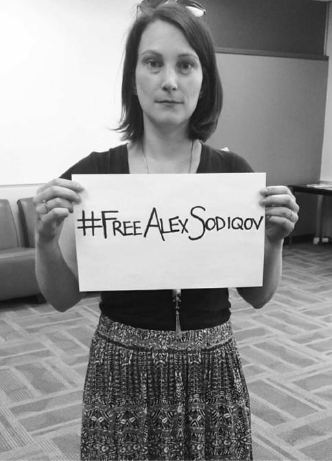 #FreeAlexSodiquov Twitter