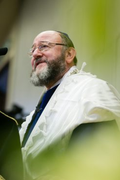 Chief Rabbi Ephraim Mirvis.