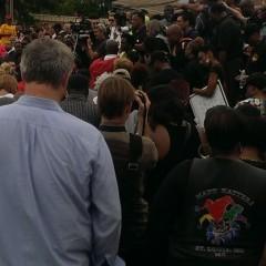 Jesse Jackson demonstrators
