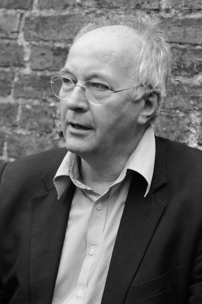 Author Philip Pullman. Photo by Chris Boland, via Flickr Commons.