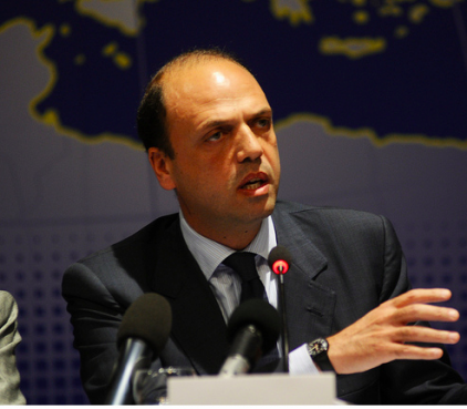 Angelino Alfano at the EPP Study Days in Palermo in 2011.