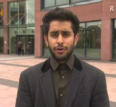 "Muhbeen Hussain, founder of a British Muslim youth group in Rotherham, said the police and the town's social services ""totally failed us"" by not taking action against gang members. Photo courtesy of Muhbeen Hussain"