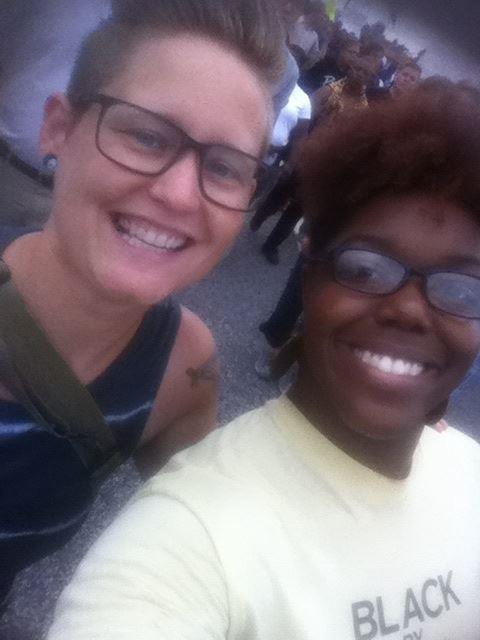 Ferguson selfie