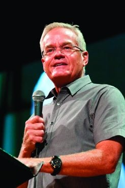 Bill Hybels, pastor of Willow Creek Community Church in South Barrington, Ill. Photo courtesy of Willow Creek Community Church, Copyright © 2013