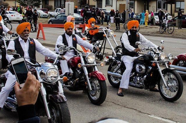 Sikh motorcycles