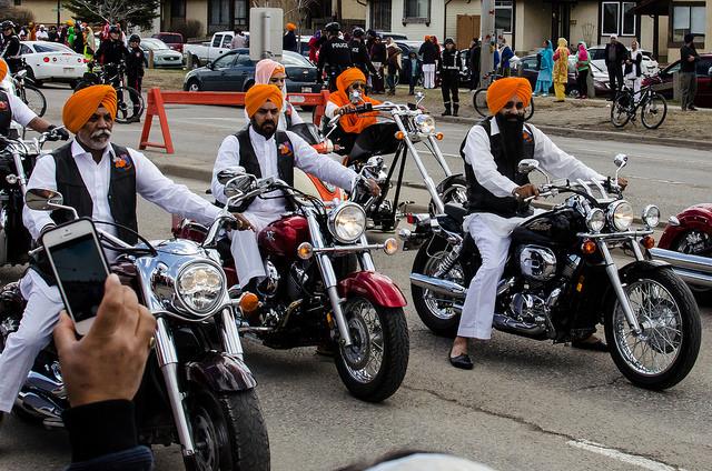 Sikh motorcycles