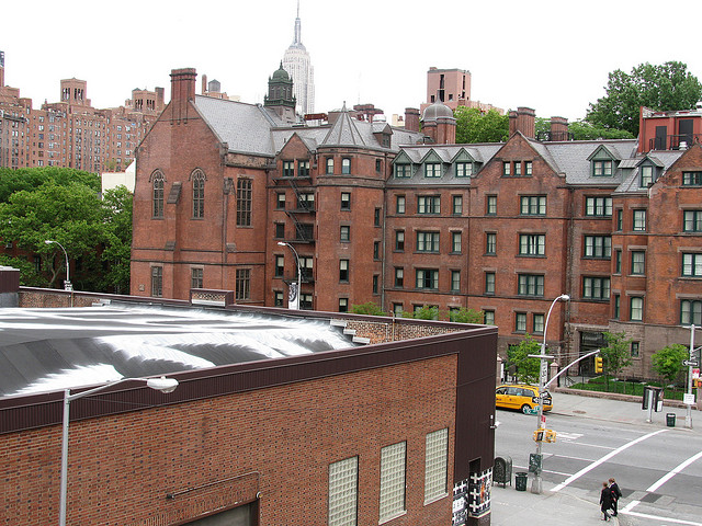 General Theological Seminary From the Highline in New York City.