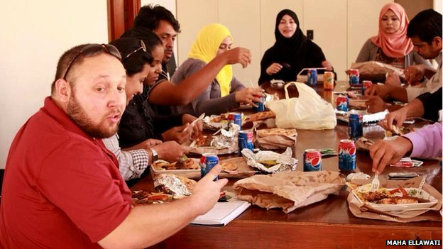 Steven Sotloff, the second American journalist killed by Islamic State. Photo courtesy of Maha Ellawati