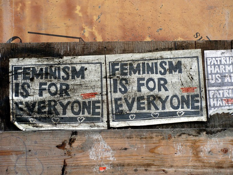 Feminism is for everyone. Photo by user knightbefore_99, via Flickr Creative Commons.