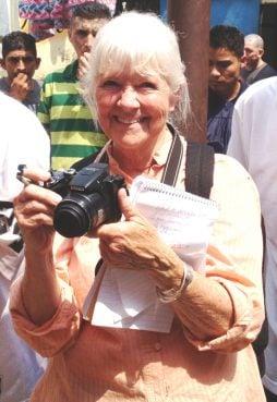 Linda Garrett is a senior policy analyst on El Salvador for the Center for Democracy in the Americas. Photo courtesy of Linda Garrett